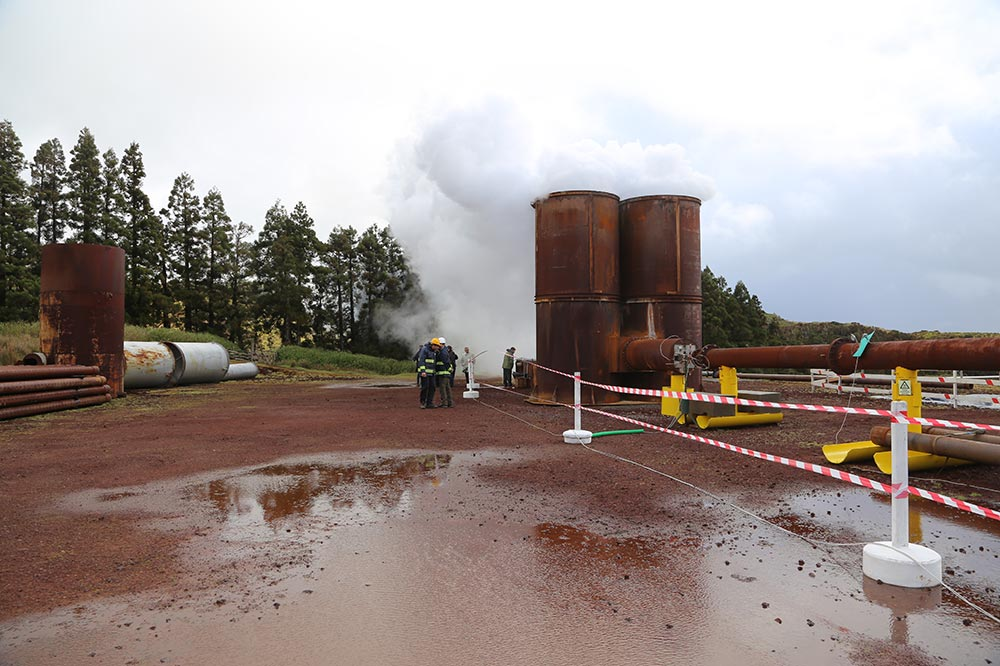 Azores geothermal potential