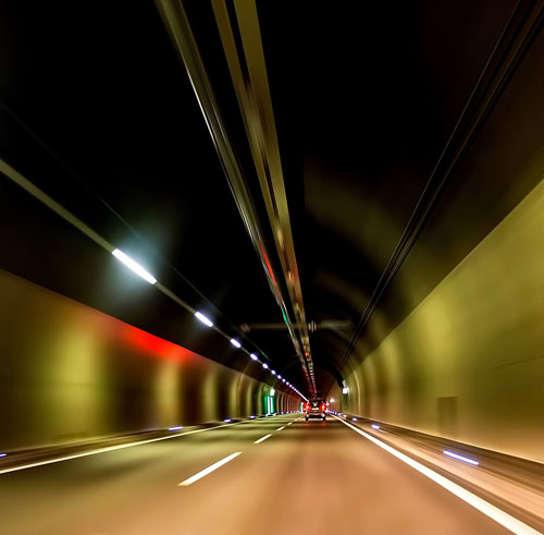 Greener tunnel vision
